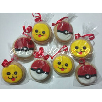 Galletas Decoradas Pokemon Picachu Mamuts Bubulubus