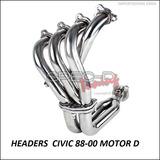 Headers Honda Civic 88 - 00 Motor D , Oferta