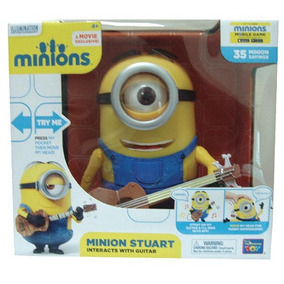 Minions Stuart Interacts With Guitar Toy Plus 20172