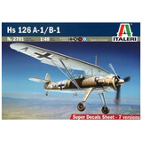 Hs126 A-1/b-1 Henschel Italeri Escala 1/48 Modelo Nuevo