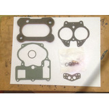 Kit De Carburador Chevrolet Motor 305 350 2bocas Pate Hierro