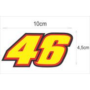 Adesivo 46 The Doctor Valentino Rossi Campeão (peq) Recorte