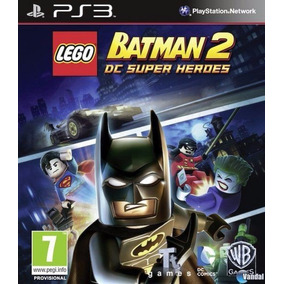 Lego Batman 2 Dc Super Heroes Ps3 Español Digital Tenelo Hoy