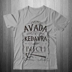 Camisa Camiseta Harry Potter Avada Top