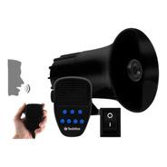 Sirene Automotiva Com Microfone Tech One 7 Tons Sonoros