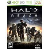 Nuevo Halo Reach Xbox 360 (software De Videojuegos) De Micr