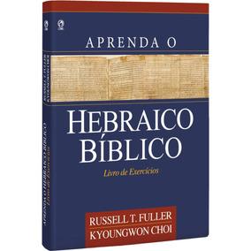 Livro Aprenda O Hebraico Bíblico / Livro De Exercícios