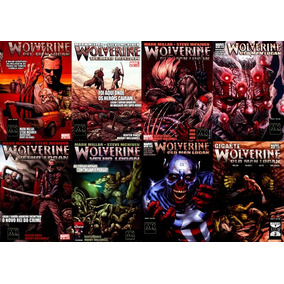 Wolverine - O Velho Logan Hq Digital Completa (8 Volumes)
