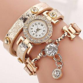 Relógio De Moda Bracele Diamante
