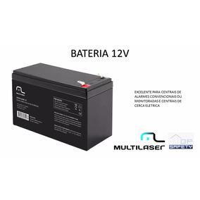 Bateria 12v Multilaser Giga Centrais De Alarmes E Choque