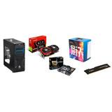 Torre Gamer Intel Core I7 7700-msi 1050ti 4gb-h110m -1 Tera