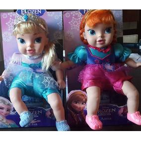 2 Bonecas Bebê Frozen - Elza/ana- Canta A Musica- Importada