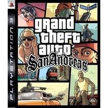 Gta San Andreas Hd Remastered Ps3 Psn Receba Hoje