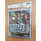 Microsoft Xbox : Brute Force Platinum Nueva Sellada