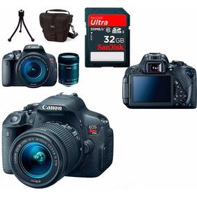 Câmera Canon Eos T5i +18-55 +bolsa+tripé+32gb