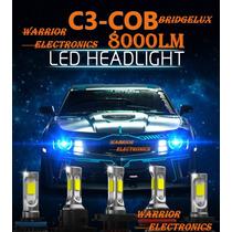 Nuevo Bulbo Led C3 Cob Bridgelux 2017 8000lm H13