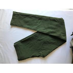 Calza Verde Militar De Algodón Talle S Tipo Victoria Secret
