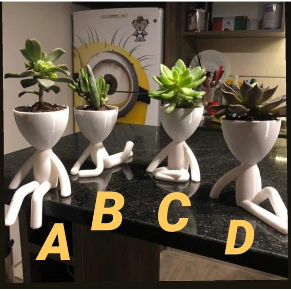 Maceta Macetero Suculentas Cactus Dise?o Original X Unidad