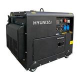 Generador Hyundai Diesel Insonoro 5/5,5 Kw P/e