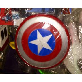 Escudo De Capitán America Niños Regaló Navidad