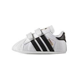 Tenis Para Bebe adidas Superstar Crib Color Blanco