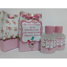30 Lembrancinhas/álcool Gel/maternidade/chá De Bebê /menina