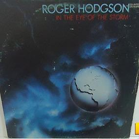 Roger Hodgson 1984 In The Eye Of The Storm Lp Com Encarte