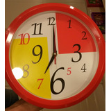Reloj Moderno De Pared / Diametro 32 Cm