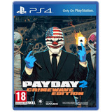 Payday 2 Crimewave Edition Ps4 2secu Entrega Inmediata Gtia!
