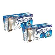 Baston Plegable Ajustable Linterna Led Trusty Cane 5 Niveles