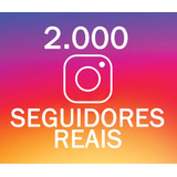2 Mil Seguidores/followers/amigos Reais No Instagram + Bônus