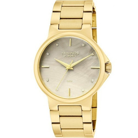 6b28b80c6b6 Relogio Technos Dourado Com Madreperola - Relógios De Pulso no ...
