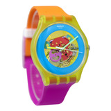 Reloj Swatch Dama Suoj 101 Color Palette Suizo Original