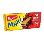 Biscoito Wafer Maxi Chocolate Bauducco 117g