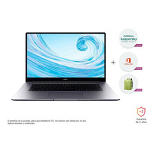 Huawei Matebook D 15 + Office + Antivirus + Morral
