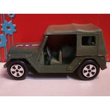 Auto Jeep Americano De Guerra Coleccionable + Sacapuntas