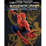 Trilogia Spiderman - 4k - Ultra Hd - Hdr