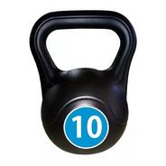 Pesas Rusas Kettlebell Plastica 10kg Fitness Deporte Funcional Functional