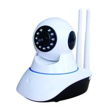 Camera Wireless Ip Sem Fio Wifi Hd Sensor Noturna 2 Antenas