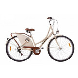 Bicicleta Retro Mobele Oma Aluminio Com Marchas Vintage