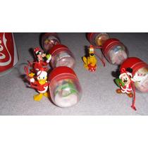 6 Figuras Mickey Y Sus Amigos Navideños Huevo Kinder Sorpres