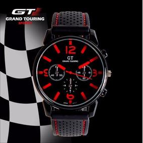 Reloj Gt Grand Touring Sports V6 Rojo Con Negro Oferta
