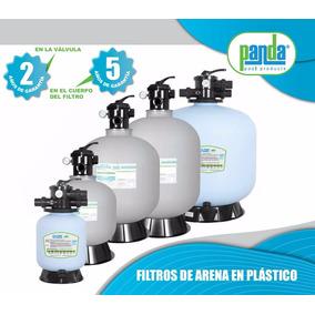 Filtro De Alberca Piscina De Arena De 19 Pulg Plastico Panda