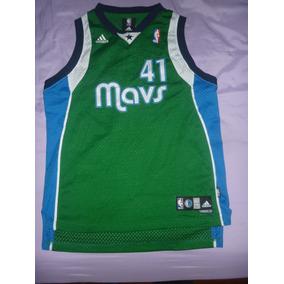 L Camiseta Dallas Mavericks adidas Nowitzky Art 49878