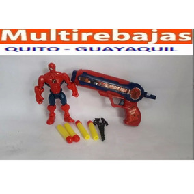 Pistola De Juguete Del Capitán América Spider Man Iron Man