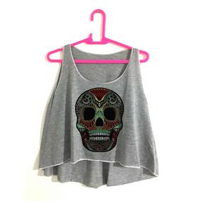 7a8cc16896569 Roupa Mexicana Masculina - Camisetas e Blusas Cropped no Mercado ...