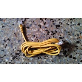 Cable Lan De Red Amarillo Para Modem E Internet