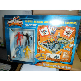 Brinquedo Antigo, Jogo Batalha Power Rangers Da Grow Usado