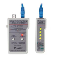 Tester Probador De Red Utp Proskit Redes Coaxial Bnc 3pk-nt007n Profesional