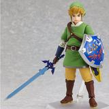 Boneco Figura The Legend Of Zelda Link - Pronta Entrega